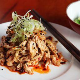 Hot and Numbing Sichuan Chicken Salad (Bang Bang Ji Si)