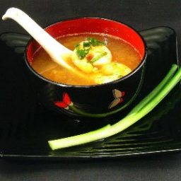 Hot and Sour Shrimp Soup - Tom Yam Goong
