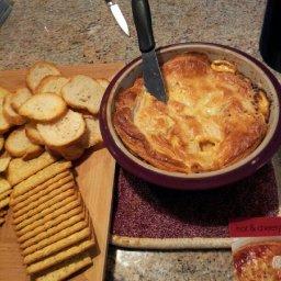 Hot & Cheesy Brushetta Dip