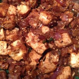 Hot Chilli Pepper Tofu