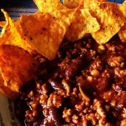 Hot, fast chili soup recipe