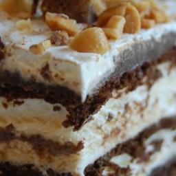 Hot Fudge Ice Cream Bar Dessert