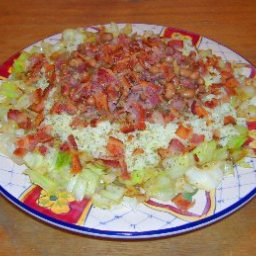 Hot Hoppin John Salad