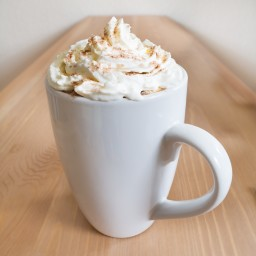Hot White Chocolate Brandy