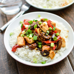 Hot and Sour Chicken Sauté