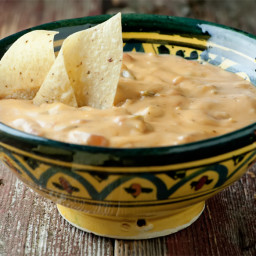 Hot Mexican Cheese Dip