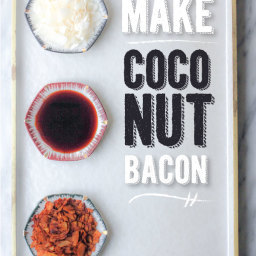 How To Make Coconut Bacon (Gluten Free and Vegan)