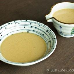 How To Make Sesame Sauce (Goma Dare)