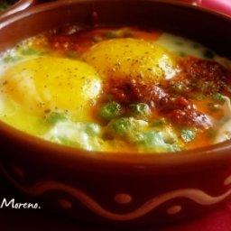 Huevos a la mallorquina