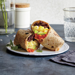Huevos Rancheros Burritos