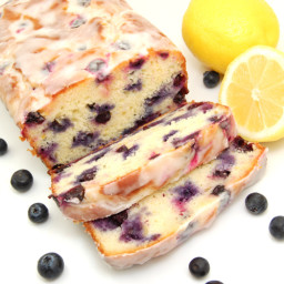 India-Lemon-Blueberry Yogurt Loaf