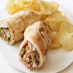 Indian Chicken Wrap