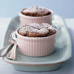 Individual Chocolate Soufflé Cakes