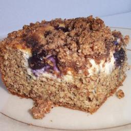 Indulge Your Sweet Tooth with Low-Carb Blueberry Coffee Cake