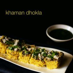 instant khaman dhokla or khaman