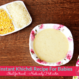 Instant Khichdi Mix Recipe/Instant Homemade Rice Cereal
