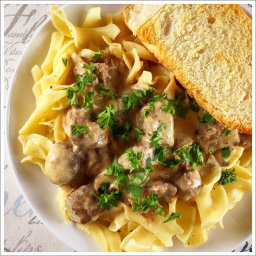 Instant Pot Recipe: Beef Stroganoff