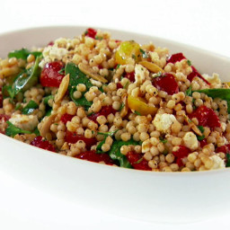 Israeli Couscous Salad with Smoked Paprika