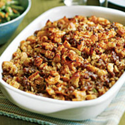 Italian Bread and Sausage Stuffing