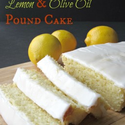 Italian Lemon and Olive Oil Pound Cake