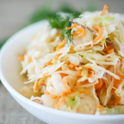 Jamaican Cabbage Salad