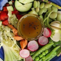 Japanese Ginger Salad Dressing