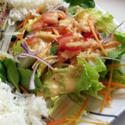 Japanese Steakhouse Ginger Salad Dressing CopyCat Shogun Steak