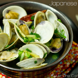 Japanese Clams (Sake Steamed Clams)