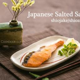 Japanese Salted Salmon (Shiojake/Shiozake) Recipe