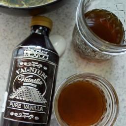 Jarabe de stevia con vainilla (para café o bebidas)