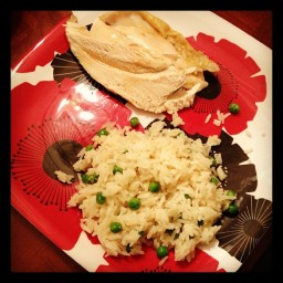 Jasmine Rice with Lemon and Peas