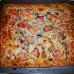 Jeff's Grilled Chicken White Pizza Magnifico