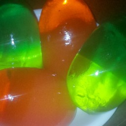 Jello Eggs
