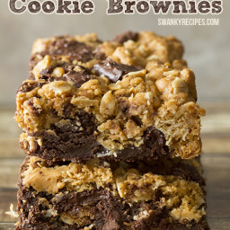 Oatmeal Chocolate Chunk Cookie Brownies