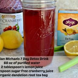 Jillian Michaels' 7 Day Detox Drink Recipe