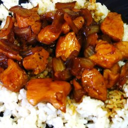 Jim's Secret Chicken Stir-Fry Dinner