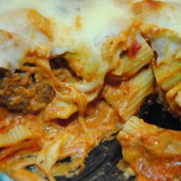 Jodie's light spaghetti with sausage