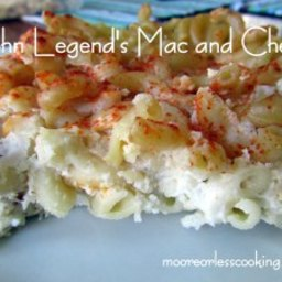 Recipes Course John Legend's Mac and Cheese