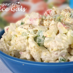 Jo's Crab Pasta Salad