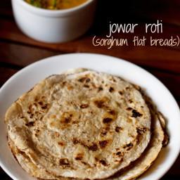 jowar roti recipe | jowar bhakri recipe