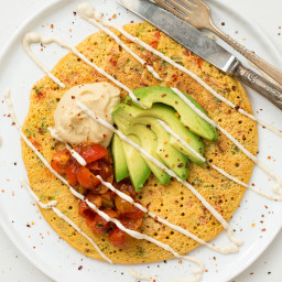 Jumbo Chickpea Pancake