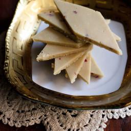 kaju katli - makes 12 to 15 slices