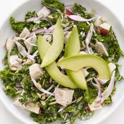 Kale-Turkey Chopped Salad
