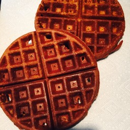 Kamut-Teff Whole Grain Belgian Waffles