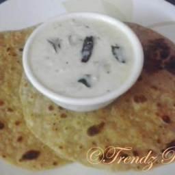 Keera Raita Recipe For Chapatis