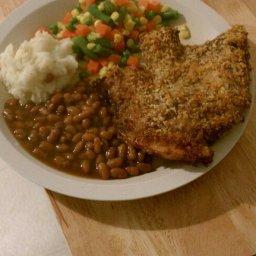 Kentucky Kernel Oven Baked Pork Chops