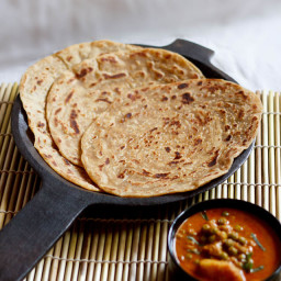 kerala paratha or kerala parotta - makes 7-8 parotta