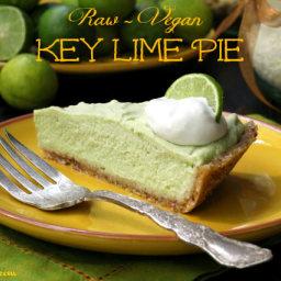 Key Lime Pie (Raw, Grain Free, Vegan)