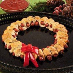 Kilted Sausage Wreath