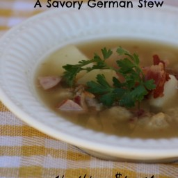 Knefla- A Nourishing German Dumpling Stew